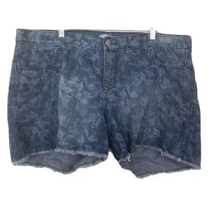 Old Navy The Diva Cutoff Shorts in Rockpile Floral